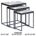 Crestview Collection Accent Furniture Cedar Point Nested Tables - Item Number: CVFZR2250