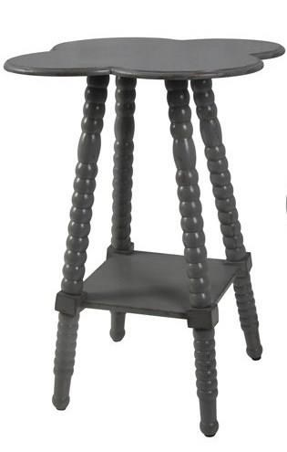 Accent Furniture Grey End Table by Crestview Collection at Factory Direct Furniture
