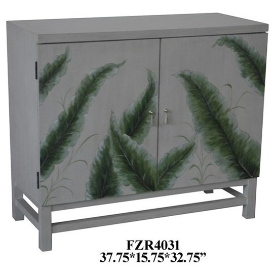 Accent Furniture 2 Door Cabinet by Crestview Collection at Factory Direct Furniture