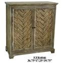 Crestview Collection Accent Furniture Rustic 2 Door Cabinet - Item Number: CVFZR4046