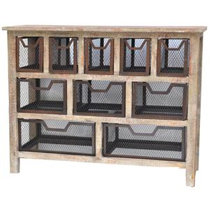 Crestview Collection Accent Furniture Donegal Console