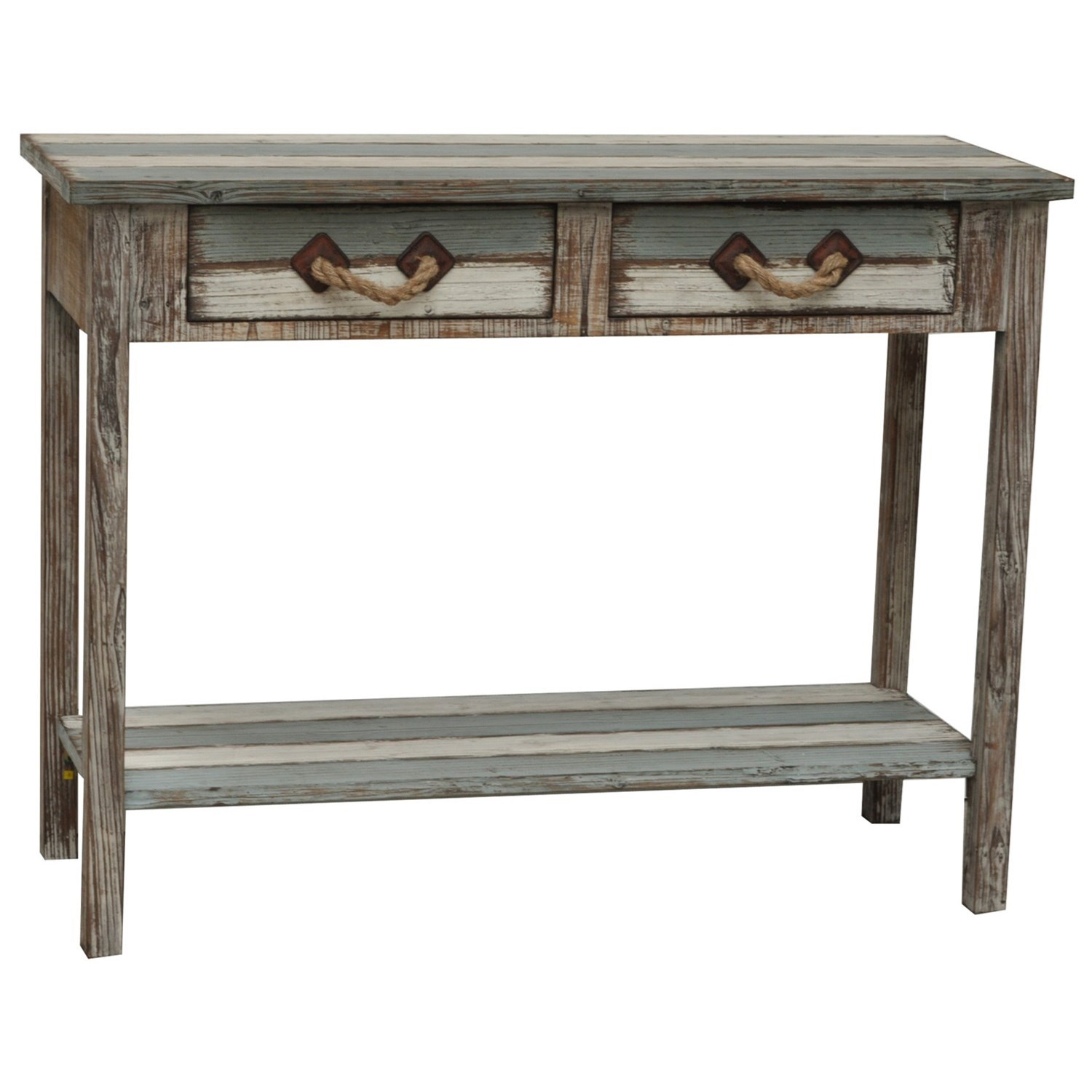 Accent Furniture Nantucket Wood Console by Crestview Collection at Factory Direct Furniture