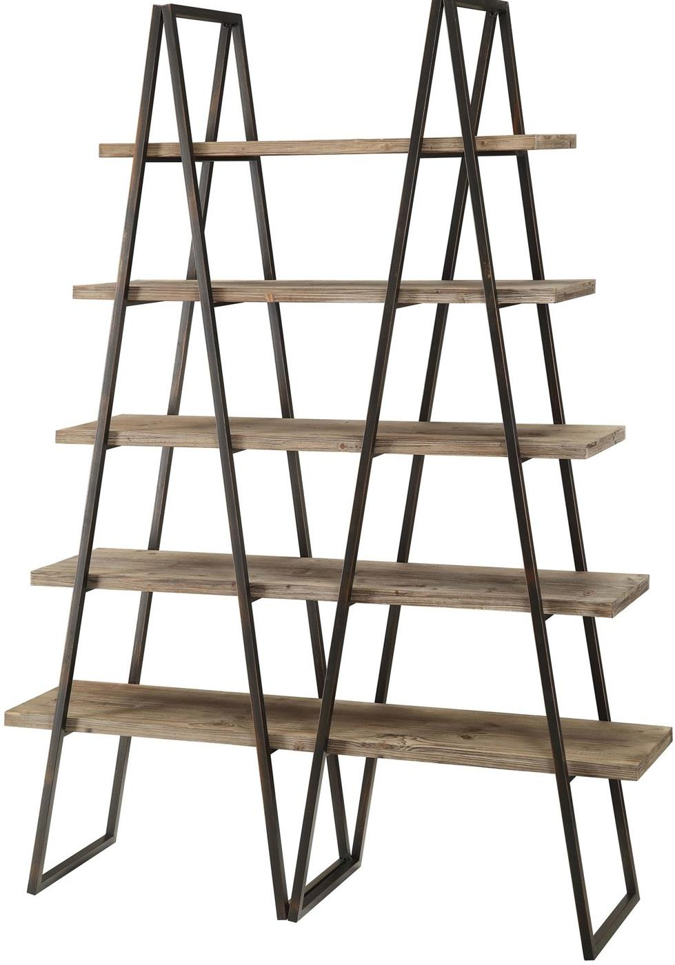Accent Furniture Ashland Weathered Bookcase by Crestview Collection at Factory Direct Furniture