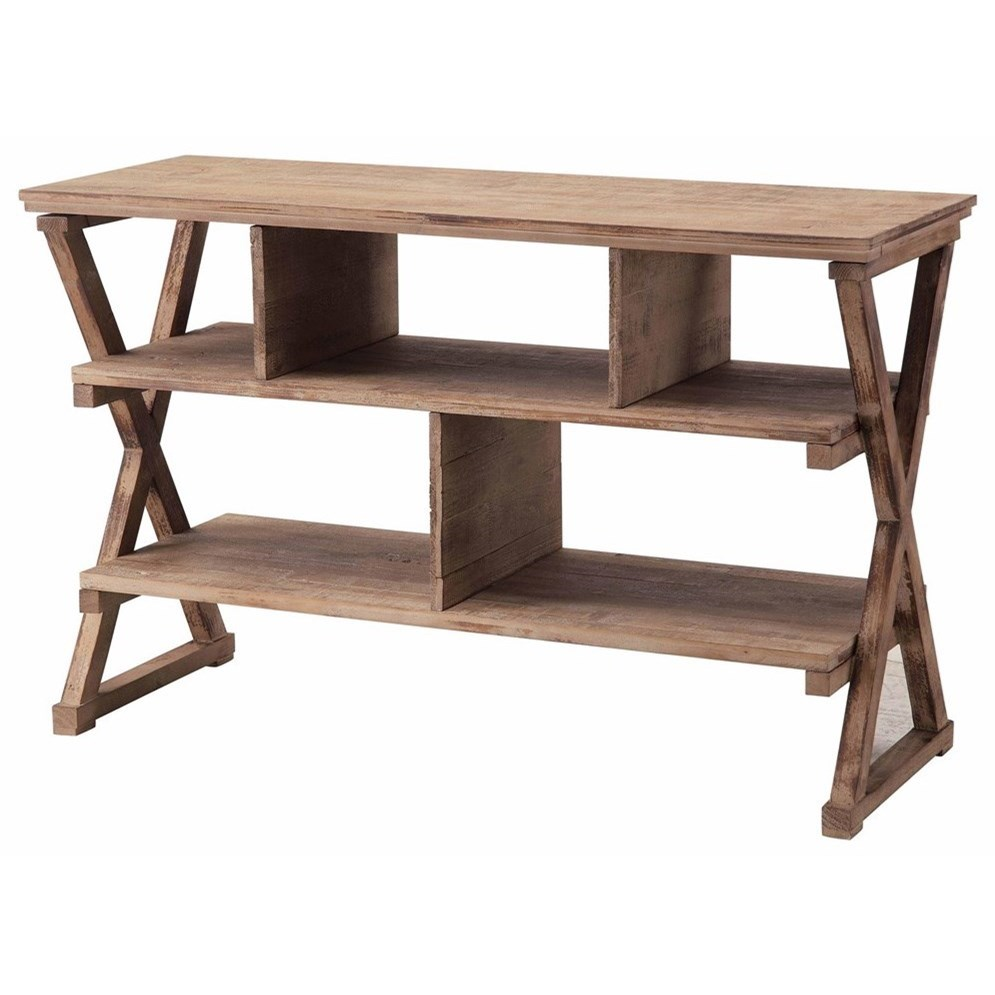 Accent Furniture Cheyenne Media Console by Crestview Collection at Factory Direct Furniture
