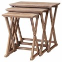 Crestview Collection Accent Furniture Cheyenne Nested Tables - Item Number: CVFZR882
