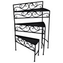 Crestview Collection Accent Furniture Cascade Shelf - Item Number: CVTFR1007