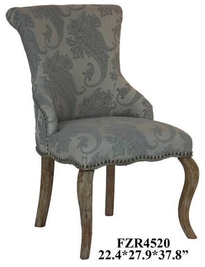 Danielle Paisley Upholstered Accent Chair wi