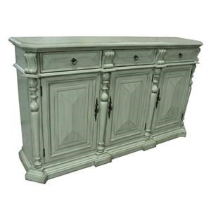 Crestview Collection Accents Sterling British Grey Sideboard