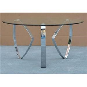 Crestview Collection Accents Hollywood Round Cocktail Table