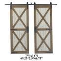Crestview Collection Accent Accessories Barn Door - Item Number: XA1470