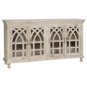 Crestview Collection Bengal Manor Cathedral Design Sideboard