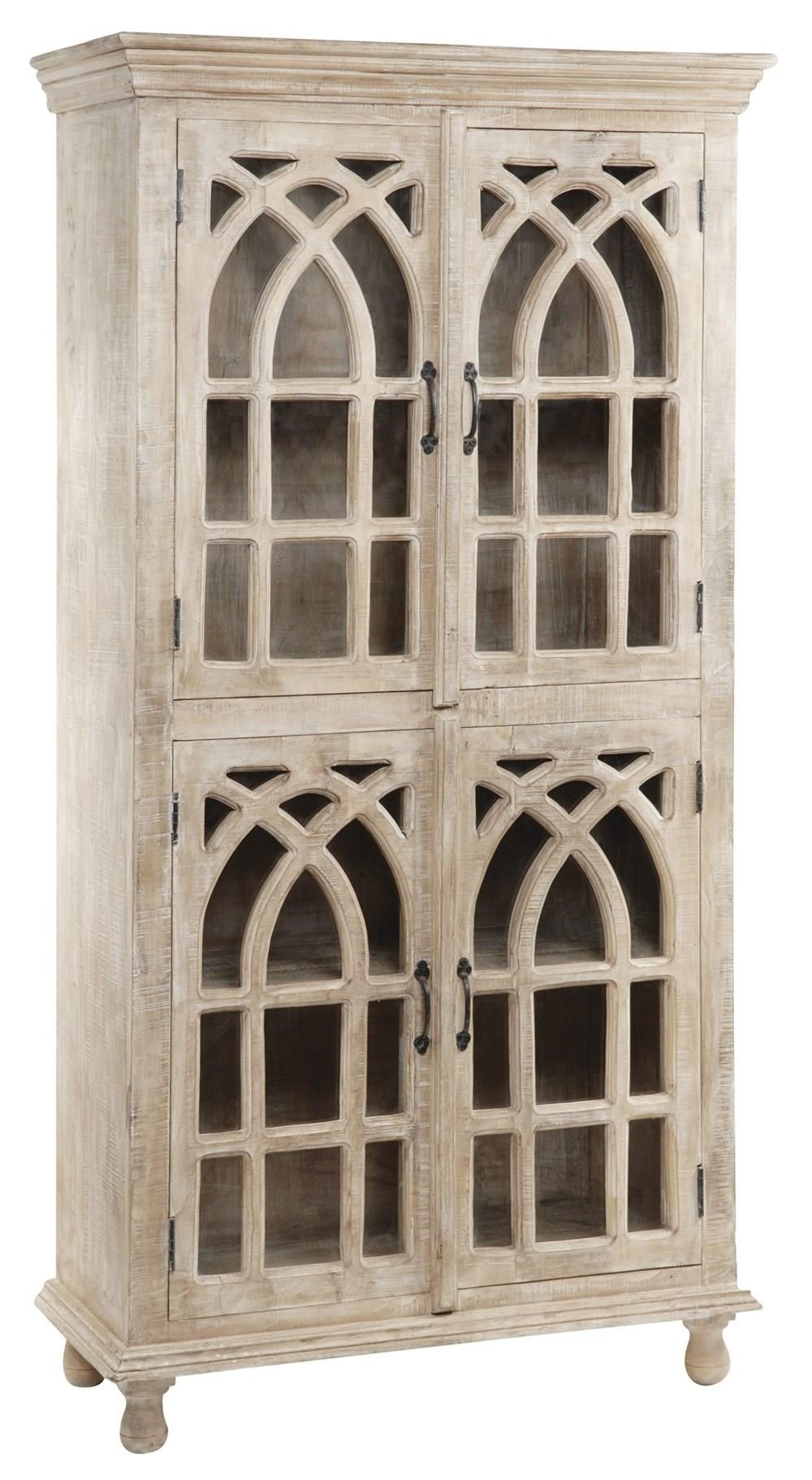 Cathedral 4 Door Cabinet