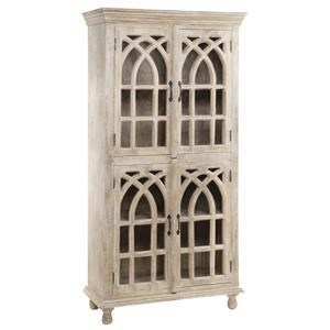 Crestview Collection Bengal Manor Cathedral 4 Door Cabinet