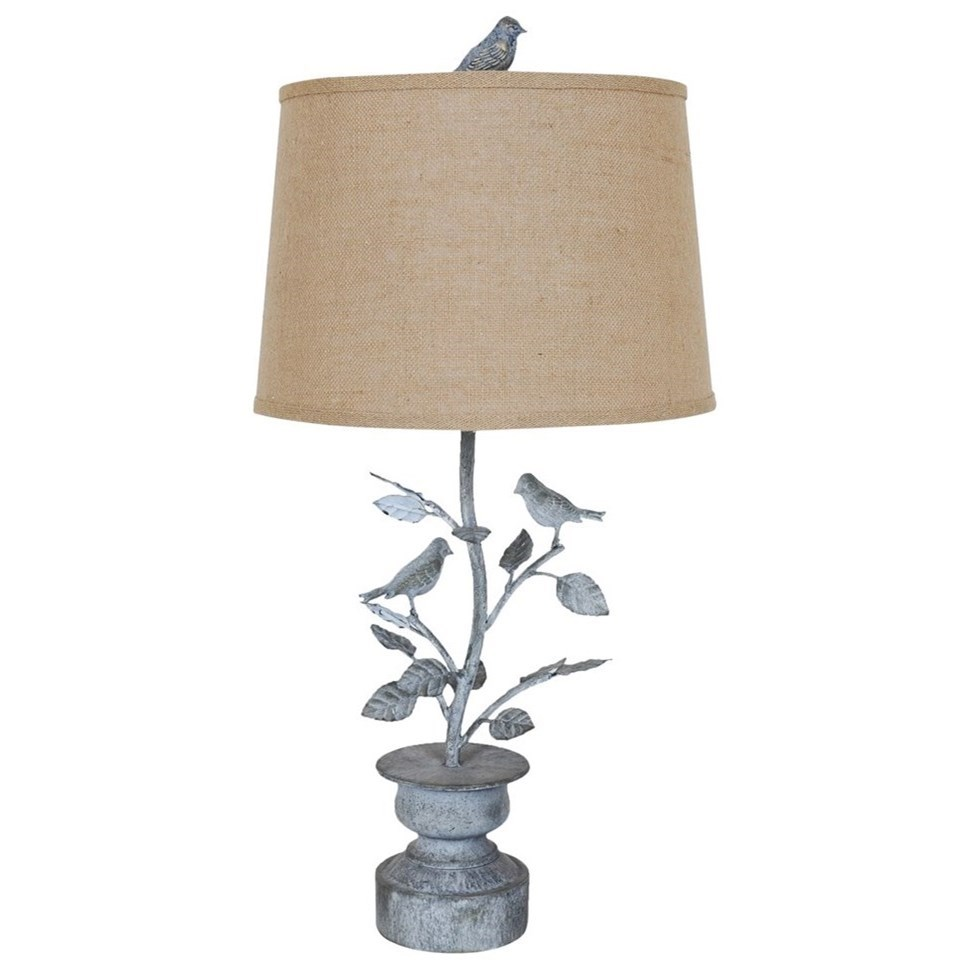 Spring Planter Table Lamp