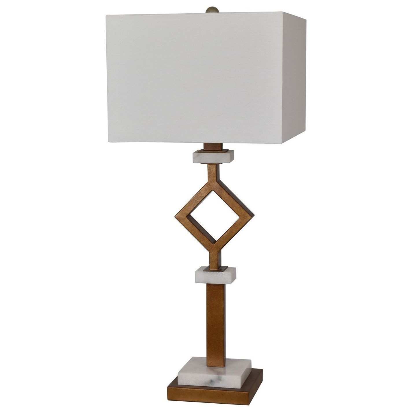 Crestview Collection Lighting Marseilles Table Lamp - Item Number: CVAER925