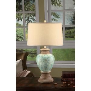 Crestview Collection Lighting Cvap1436: Leona Table Lamp