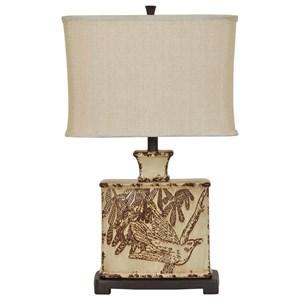 Crestview Collection Lighting Elsie Table Lamp