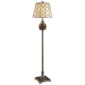 Crestview Collection Lighting Pine Bluff Floor Lamp
