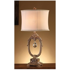 Crestview Collection Lighting Leda Table Lamp