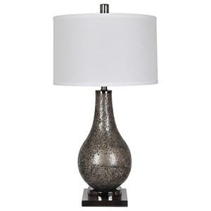 Crestview Collection Lighting Ascott Smoke Table Lamp