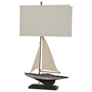 Crestview Collection Lighting Sailings Away Table Lamp