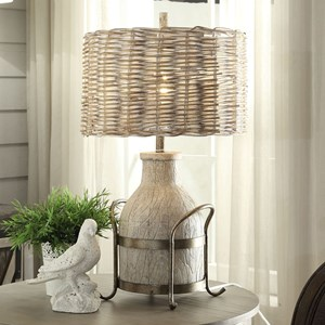 Crestview Collection Lighting Dary Farm Table Lamp