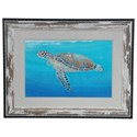 Crestview Collection Prints and Paintings Ocean Sea Turtle 2 - Item Number: CVA3237