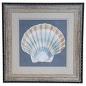 Crestview Collection Prints and Paintings Shell On Slate 3 - Item Number: CVA3240
