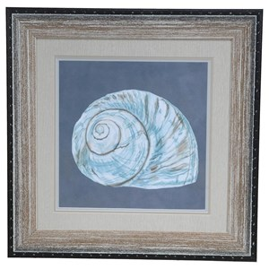 Crestview Collection Prints and Paintings Shell On Slate 8