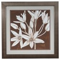 Crestview Collection Prints and Paintings Sepia Lily 2 - Item Number: CVA3302