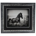 Crestview Collection Prints and Paintings Running Horse - Item Number: CVA3329