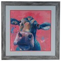 Crestview Collection Prints and Paintings Pink Lady - Item Number: CVA3333