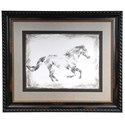 Crestview Collection Prints and Paintings Equine Study 1 - Item Number: CVA3424