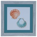 Crestview Collection Prints and Paintings Watercolor Shells 1 - Item Number: CVA3547