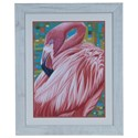 Crestview Collection Prints and Paintings Flamingo 2 - Item Number: CVA3647