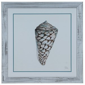 Crestview Collection Prints and Paintings Modern Shell 2