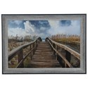 Crestview Collection Prints and Paintings Path To Paradise - Item Number: CVA3654