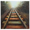 Crestview Collection Prints and Paintings End Of The Line - Item Number: CVTOP1782