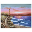 Crestview Collection Prints and Paintings Light House 2 - Item Number: CVTOP2109