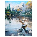 Crestview Collection Prints and Paintings Angler 1 - Item Number: CVTOP2263