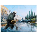 Crestview Collection Prints and Paintings Angler 2 - Item Number: CVTOP2264