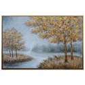 Crestview Collection Prints and Paintings Hand Painted Canvas - Item Number: CVTOP2433