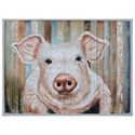 Crestview Collection Prints and Paintings Hand Painting on Wood - Item Number: CVTOP2438