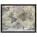 Crestview Collection Prints and Paintings World Map - Item Number: CVTWA1418