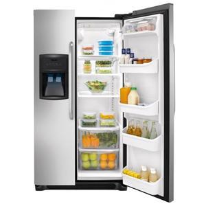 Crosley Top-Mount Fridges 23.0 Cu. Ft. Side-by-Side Refrigerator