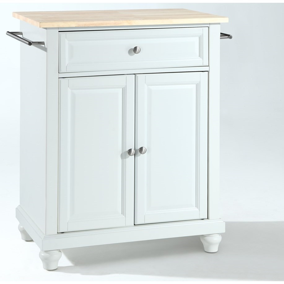 Crosley Furniture Cambridge Portable Kitchen Island  - Item Number: KF30021DWH
