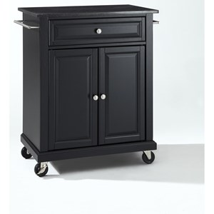 Crosley Furniture Compact Kitchen Portable Kitchen Cart/Island