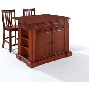 Crosley Furniture Coventry Kitchen Island Set