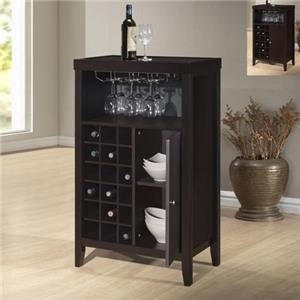 Crown Mark Layla 1308 Wine Cabinet