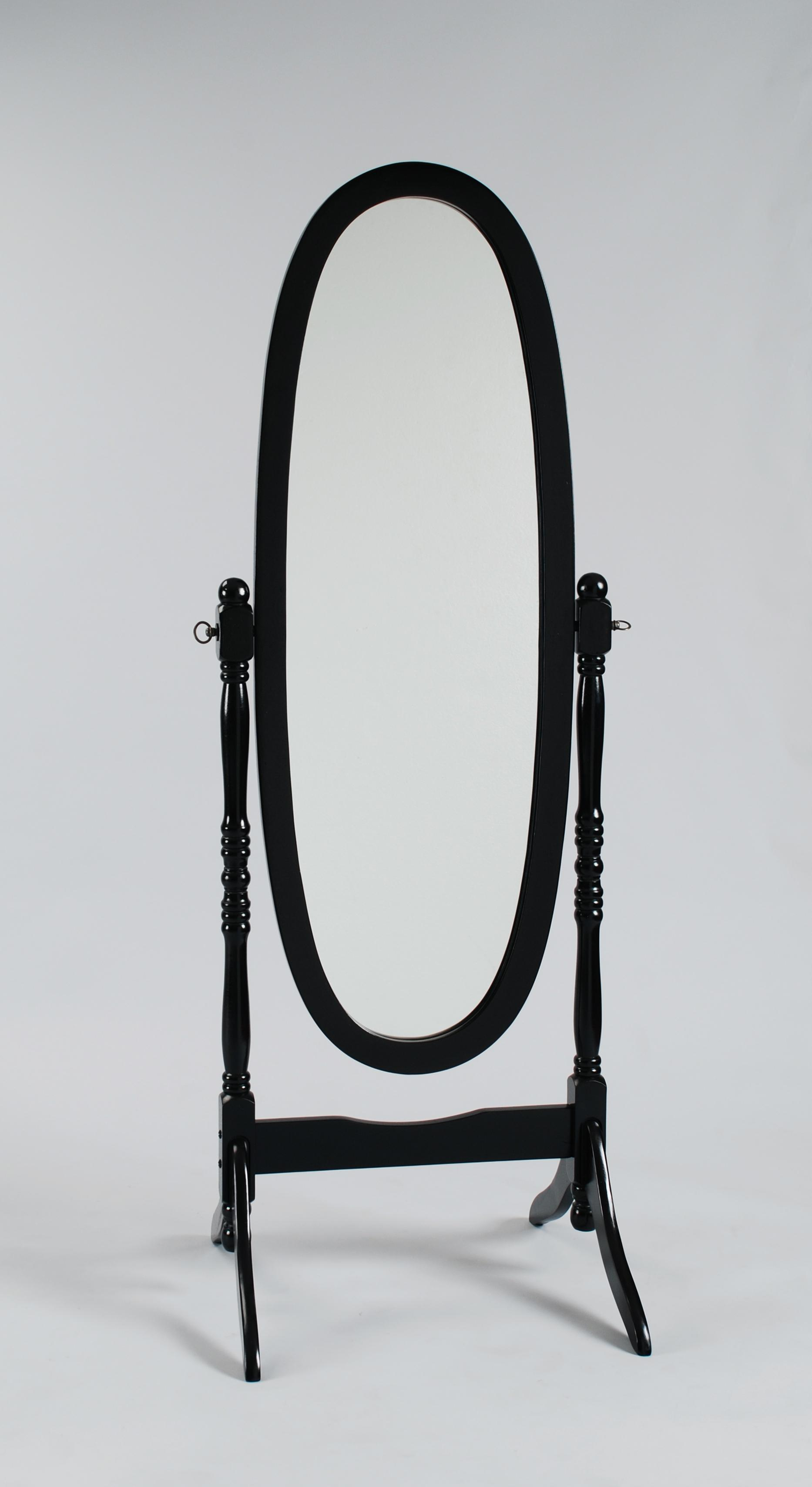Crown Mark 2070 Cheval Mirror - Item Number: 2070-BK